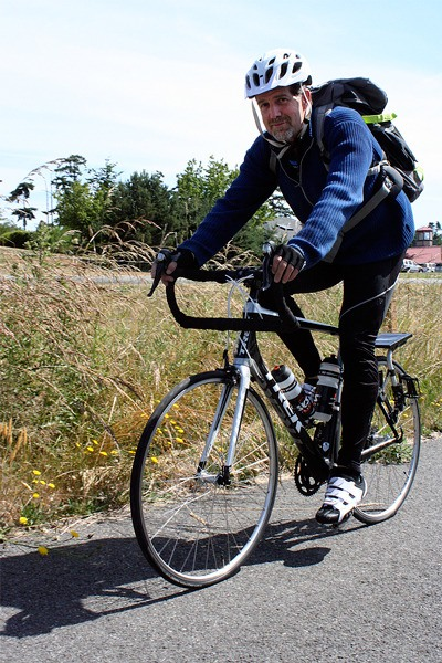 Pat Rodden's passion for cycling led to his involvement in Warm Showers